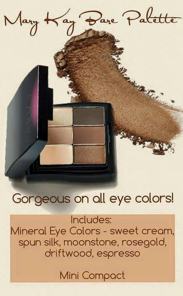 Let me help you achieve any look for your eye color with natural colored basics! Visit my website to connect with me: www.marykay.com/mwyche
