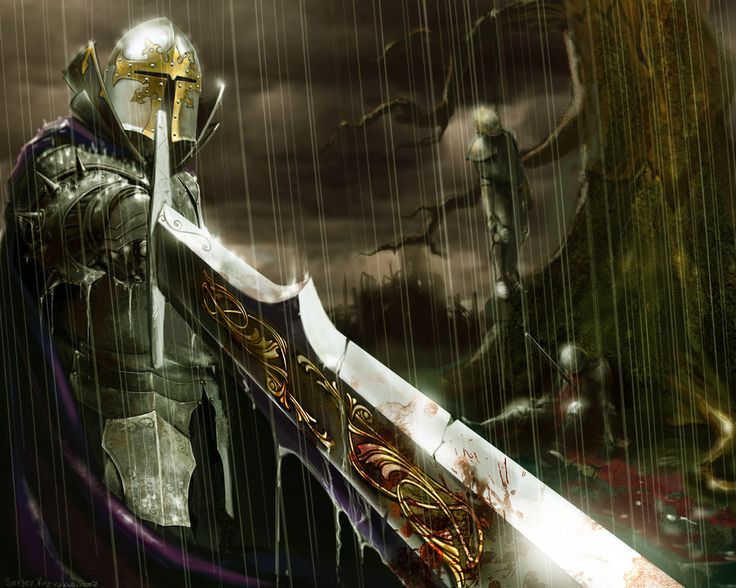 Intimidating knightThe Lord, Final Fantasy, Knights, Fantasy Art, Warriors, Swords, Dark Art, Medieval Time, Night Sky