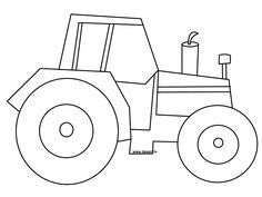 tractor pictures to print and color tractor coloring page ready to be printed - John Deere Tractor Coloring Pages