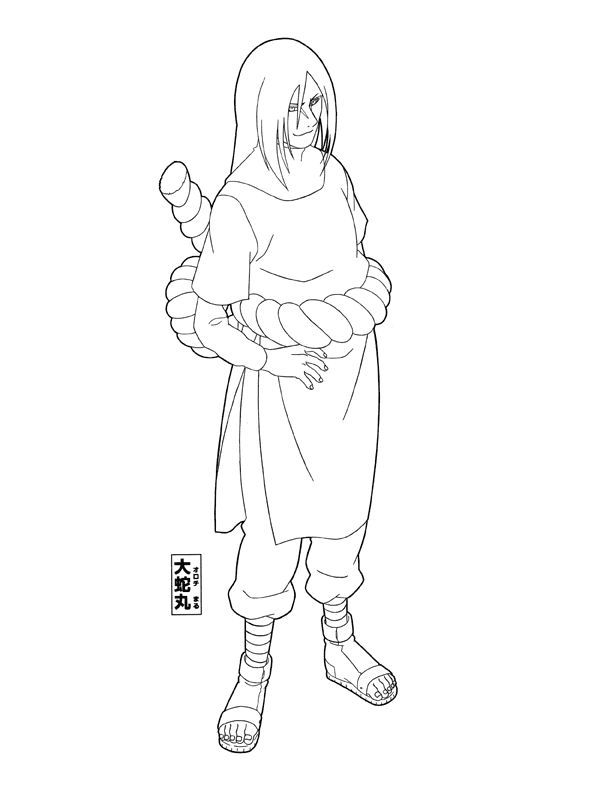 naruto coloring pages 999 - photo#9