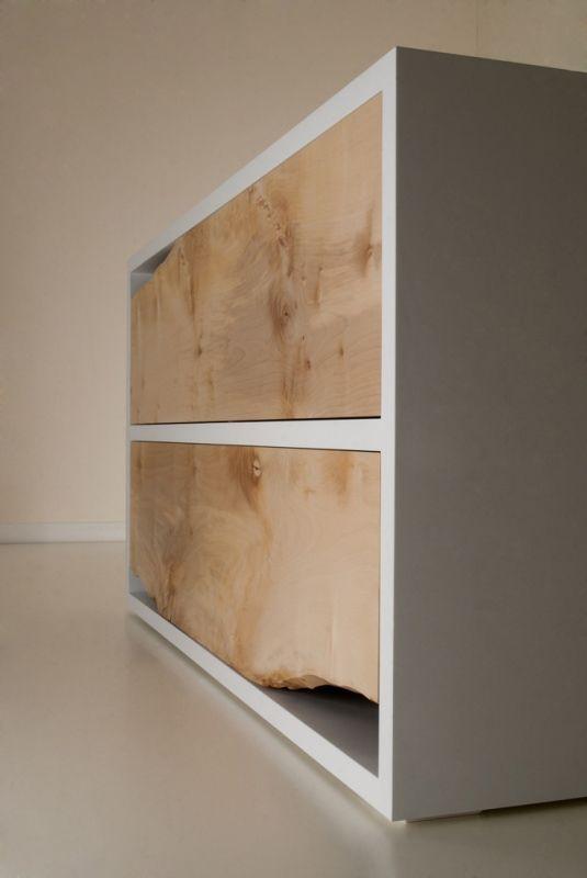 Minimalist Raw Sycamore Chest Of Drawers. Pinterest teki 25 den fazla en iyi Minimalist chest of drawers