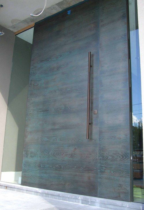 21 Best Images About Inspiration Entry Doors On Pinterest Metal Gates Modern Front Door And