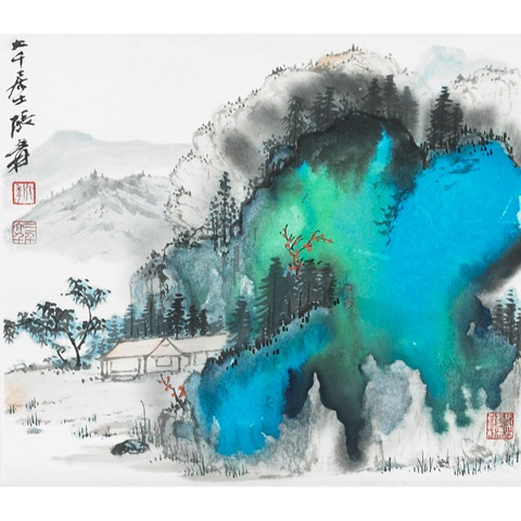 From Zhang Daqian... that just became the first artist in worldwide auction in 2011.
