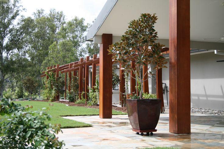 Landscape Design Brisbane. Award winning garden Samsonvale