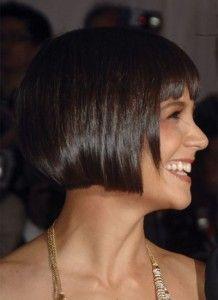 Pleasant 1000 Images About Hair On Pinterest Katie Holmes Britt Short Hairstyles Gunalazisus