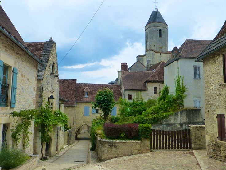 The medieval town of Martel, Lot France