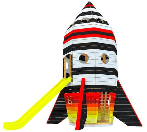 Rippin' Rocket Ship | Playhouse Plan
