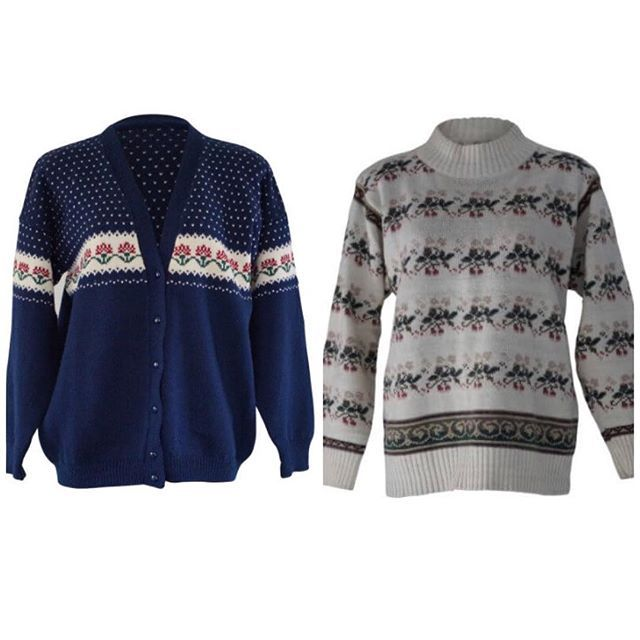 Winter warmers: Winter is coming and we are stoked with lots of wooly jumpers and cardigans waiting to keep the kill away. Shop now link in bio. #autumnlook #winterfashion #woolyjumper #vintagejumper