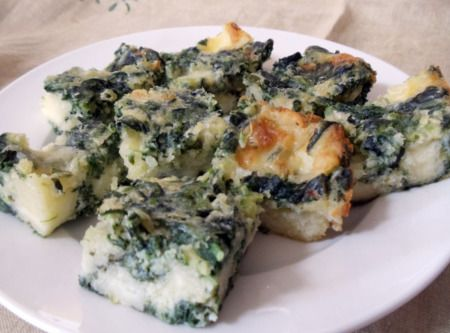 Spinach Cheese Bars Comments from the Test Kitchen: Enjoy these cheesy ...