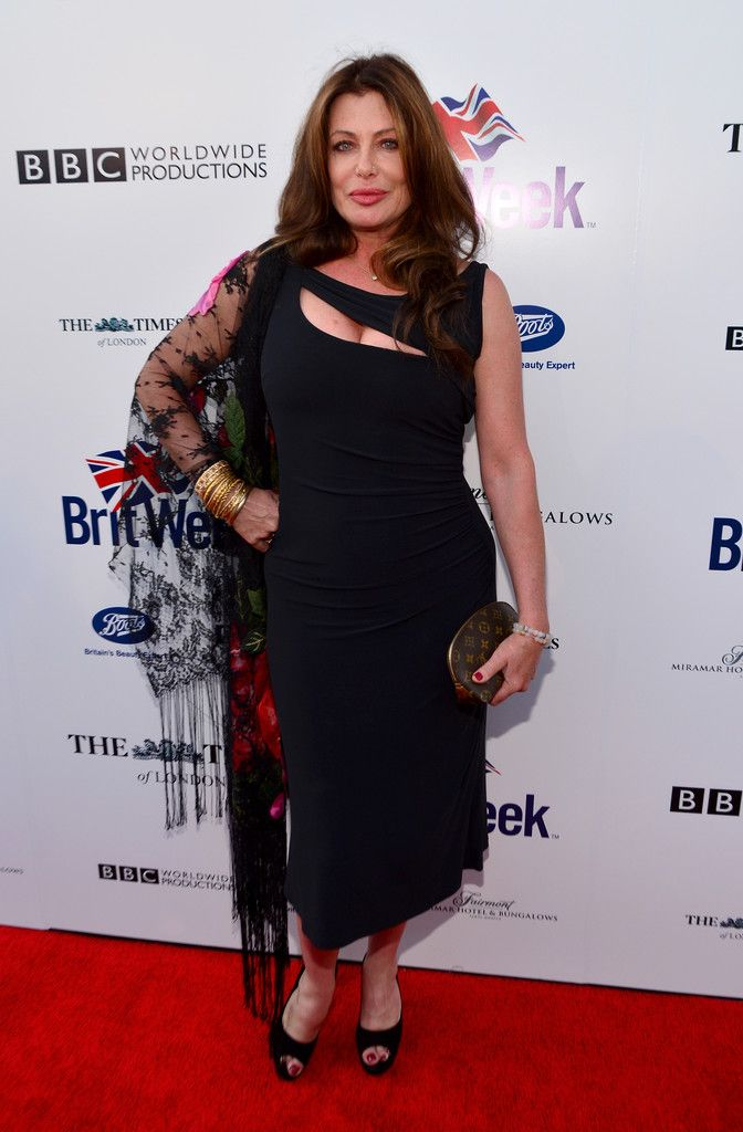 Kelly LeBrock Photos: Arrivals at the BritWeek Launch Party