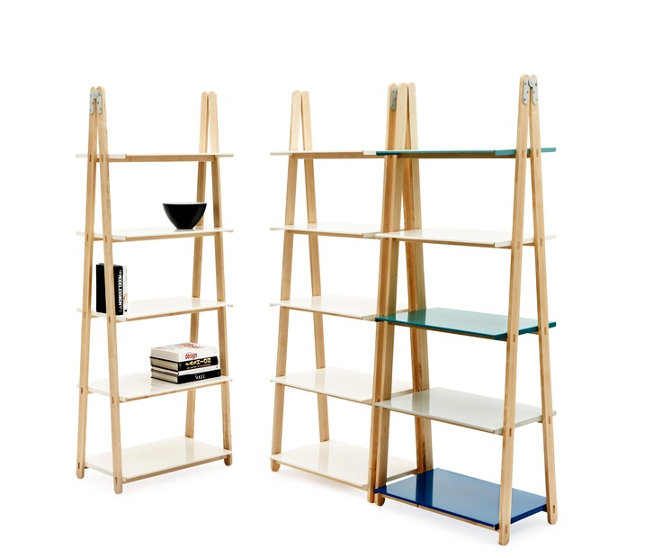 One Step Up Shelf - #Bookcase by Normann Copenhagen