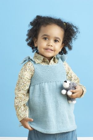 Free Knitting Pattern - Toddler & Childrens Clothes: Childs Beach Top