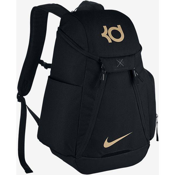 Nike KD Max Air Backpack. Nike.com ($90) ❤ liked on Polyvore featuring bags, backpacks, backpack bags, nike, daypack bag, nike rucksack and knapsack bag