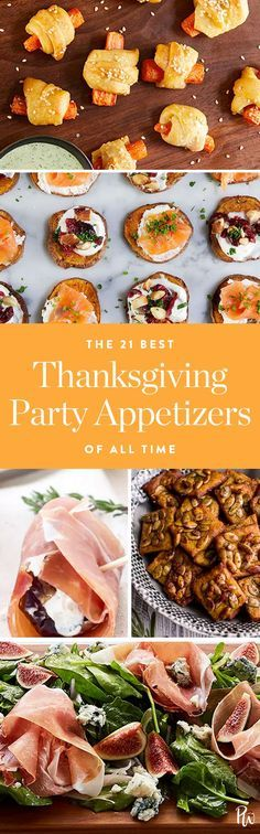 Meet the best Thanksgiving appetizers of all time. Click for all the recipes your guests will adore. #thanksgiving #appetizers #easyappetizers #thanksgivingappetizers #thanksgivingfood #fallrecipes #fallfood