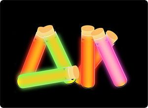 Must try these homemade Glow Sticks!  How cool is that?  Maybe for Ashley's science fair project.