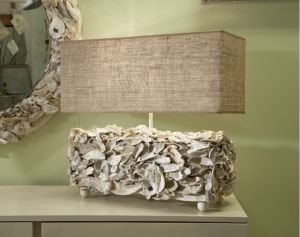 Ooooooo... I could do this with those huge clam shells I brought back from the beach.
