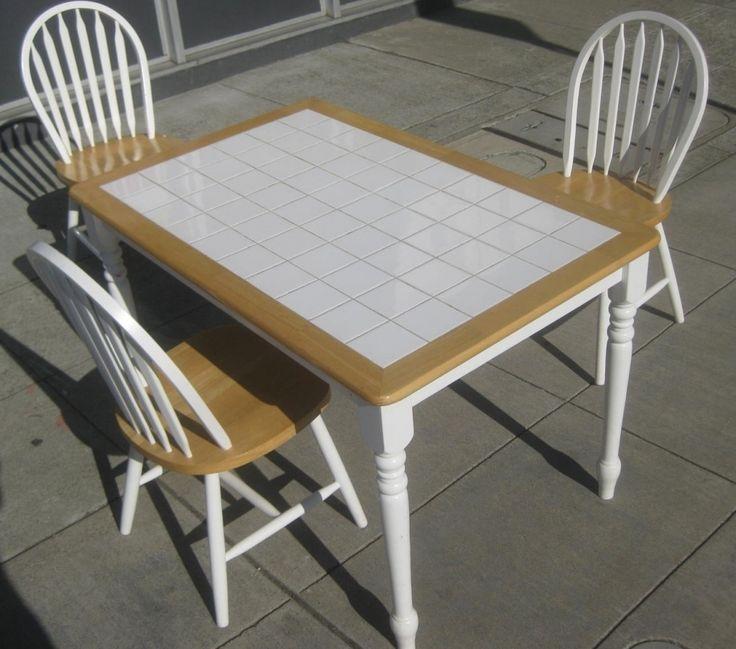 25+ Unique Tile Top Tables Ideas On Pinterest