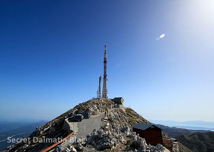 Sv Jure - peak of Biokovo mountain overlooking  Makarska - Secret Dalmatia