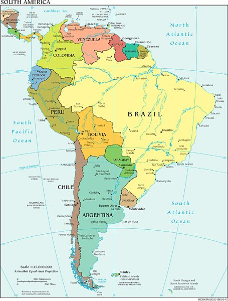 29 best Maps images on Pinterest Cards, Maps and World maps - best of world map with brazil highlighted