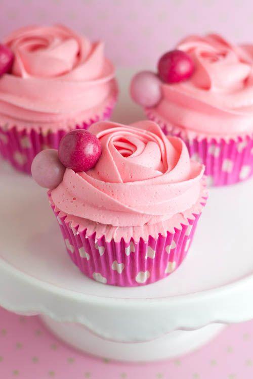Objetivo: Cupcake Perfecto.: ¡¡Cupcakes de chicle!! Me comia yo unas ahora