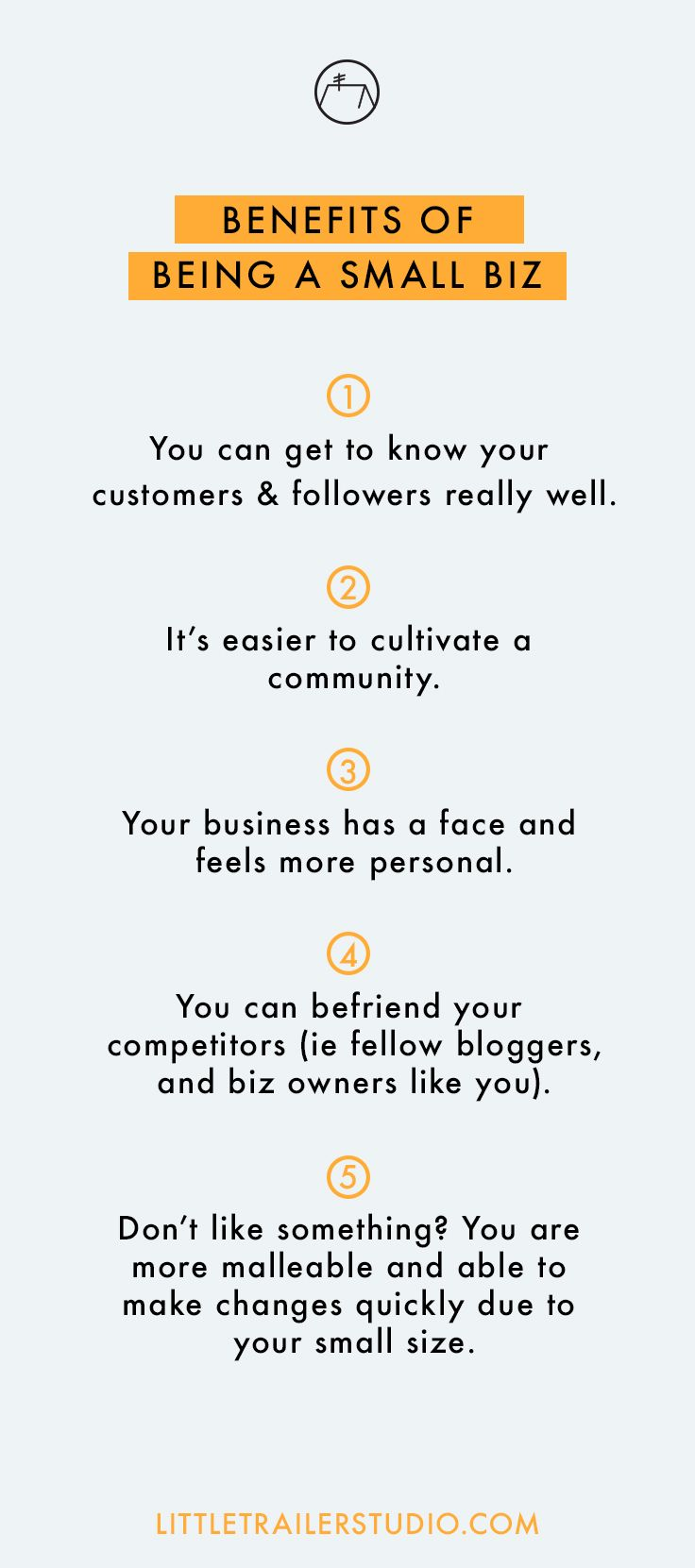 Being small has many great benefits. One of my favorites is being able to be really malleable. Click through to read more about how you can use your small business size to your advantage.