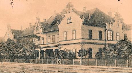 Brad - Gara - 1900