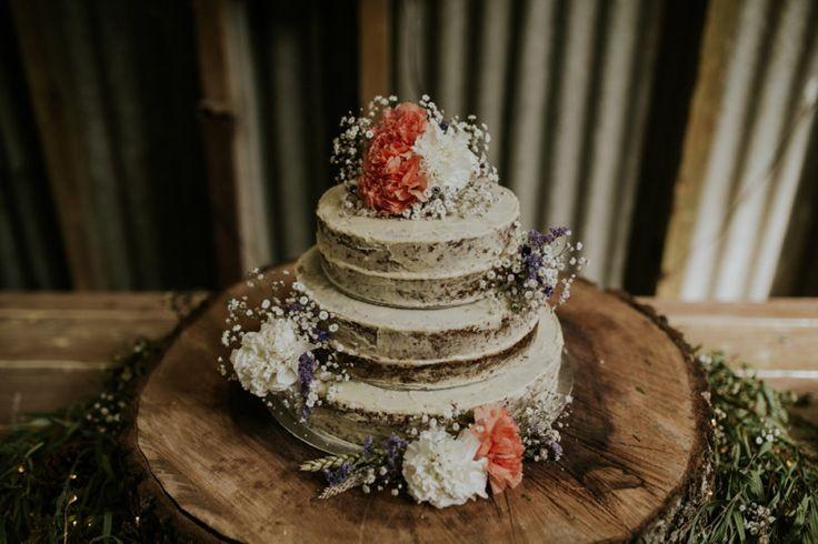 homemade hummingbird wedding cake