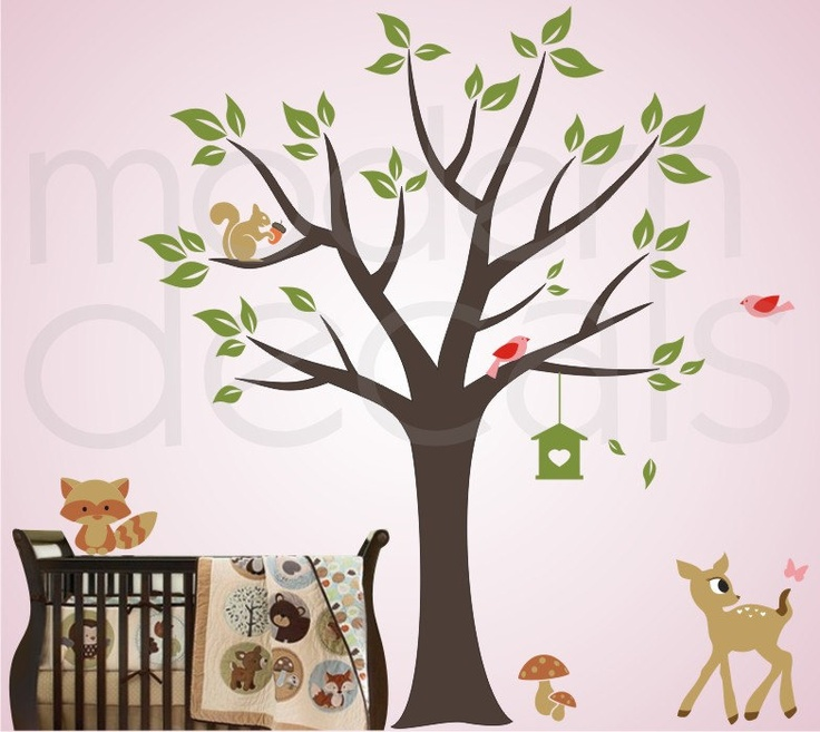Nursery Wall Decal Kids Room Wall Art By Moderndecals On