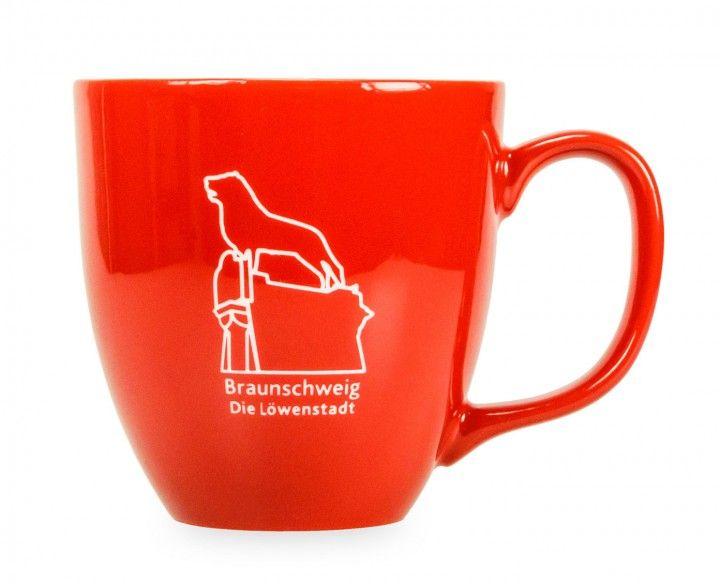 Tasse Braunschweig Mit Eingraviertem Burglowen Tassen Braunschweig Porzellan Tasse
