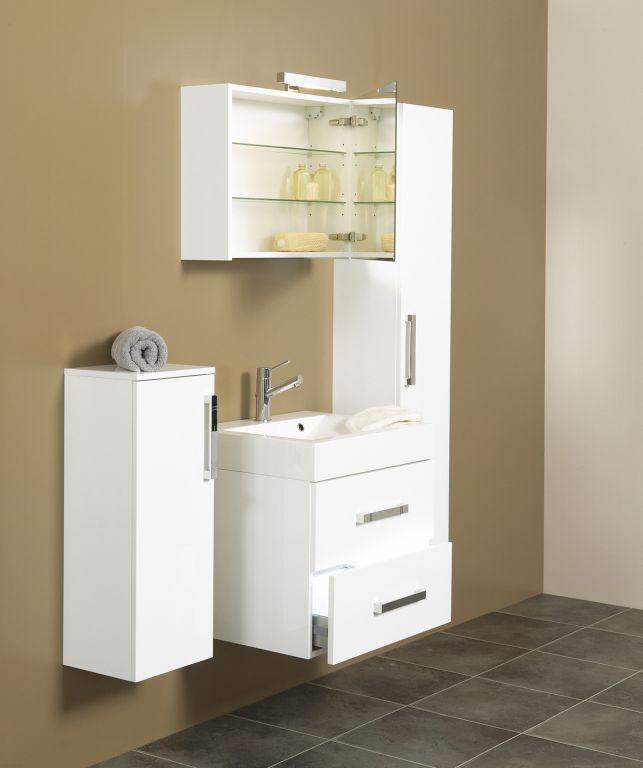 Quadrato badkamermeubel spiegelkast 60x50cm - KlusWijs - Uw persoonlijke bouwmarkt