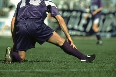 Failure to warm-up and stretch adequately before exercise could result in a torn calf muscle.