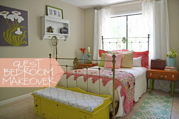 Vintage Bedroom Makeover | Hearts & Sharts | www.heartsandsharts.com
