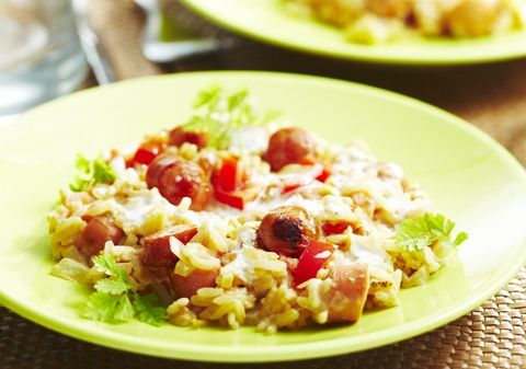 Riz sauté aux tomates et saucisses | Croquons La Vie - Nestlé