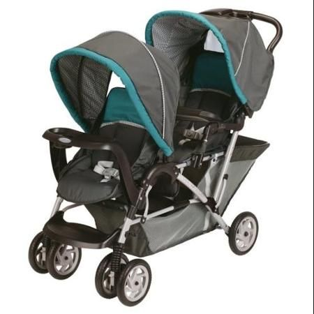 Graco DuoGlider Tandem Folding Double Baby Stroller - Dragonfly | 1853476