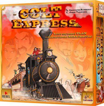 Gra towarzyska Colt Express - Rebel | Sklep EMPIK.COM