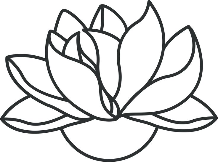 Images For Buddha Lotus Flower Drawing