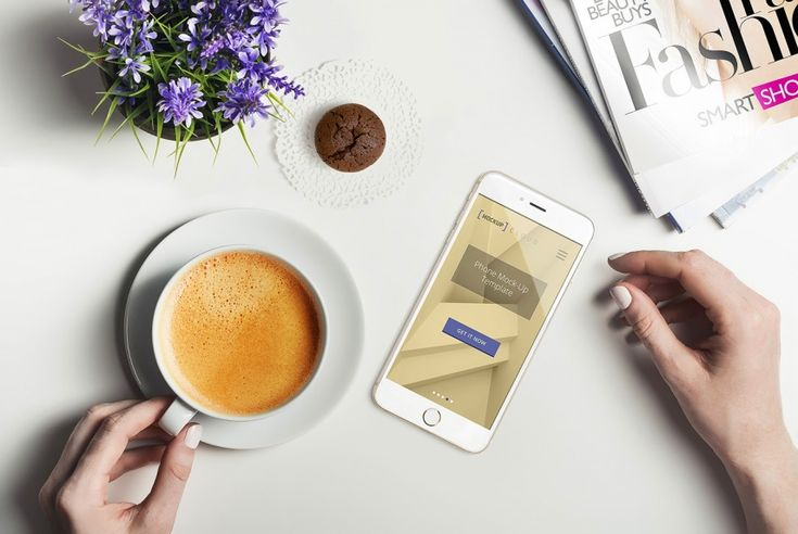Our free smartphone mockup feature professional photographs and allow you to create sleek, premium images that enhance your products. #mockup #free #smartphone #scene