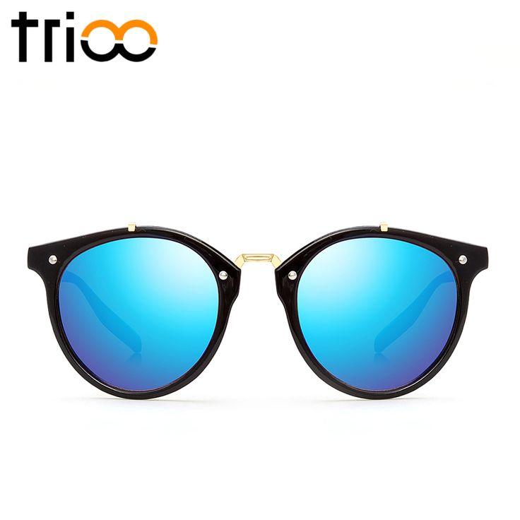 TRIOO Vintage Round Sunglasses Women Fashion Designer Eyewear UV400 Gradient Female Retro Sun Glasses Brand Points Sun Women #clothing,#shoes,#jewelry,#women,#men,#hats,#watches,#belts,#fashion,#style