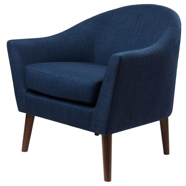 Grayson Navy Accent Chair  390 CAD    liked on Polyvore featuring home   furniture  Navy Accent ChairAccent ChairsMid Century Modern  Best 25  Navy accent chair ideas only on Pinterest   Cream sofa  . Mid Century Modern Chairs Overstock. Home Design Ideas