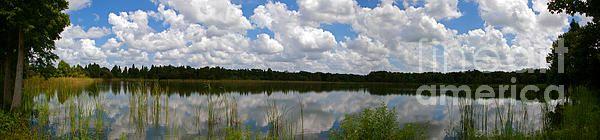 Florida Lake 1 photograph by Nancy L. Marshall - Florida Lake 1 Fine Art Prints and Posters for Sale #FineArtAmerica  Alafia River State Park, Lithia, Florida.