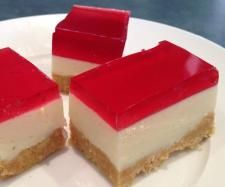 Recipe Jelly Slice by junata - Recipe of category Desserts & sweets