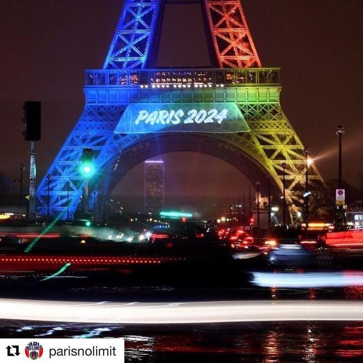 #Repost @parisnolimit (@get_repost)  #LosAngeles a passé un accord avec le CIO pour les Jeux Olympiques 2028 ce qui ouvre la voie à la tenue des Jeux Olympiques à #Paris2024 (AFP) #boiteaufle