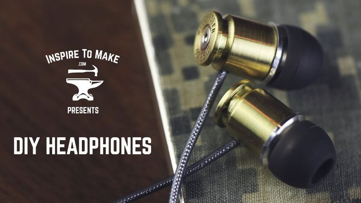 I guarantee your friends will be insanely jealous of these incredible homemade earbuds. They don't look all that difficult to make if you're handy with a drill and a soldering iron. But the results are awesome. Watch this video to learn how to make headphones out of .40 caliber shells.