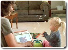 This website provides step-by-step guidelines for early intervention to build language and communication skills by Janice Light Kathy Drager from Penn State