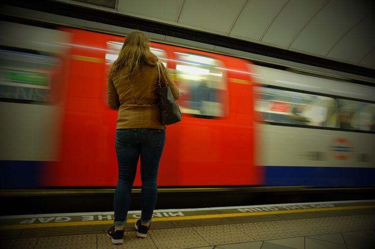 Waiting... (Part 2) #london #londonunderground #tubestation #mindthegap #photography