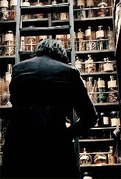 """2005 - Alan Rickman as Professor Severus Snape in """"Harry Potter and the Goblet of Fire."""""""