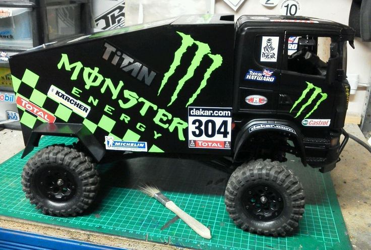 rc rock crawler, Axial scx10 , mavrick, rc4wd Dakar Truck, monster energy