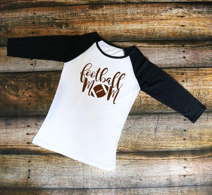 Football Mom- Women's Raglan shirt, T-Shirt, Tank top
