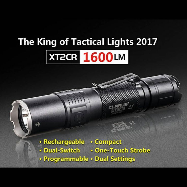 Here are a few highlights of the XTC2R! To learn more visit our website. This tactical light is packed with features  #klarus #flashlight #edc #led #tactical #tacticalgear #everydaycarry #outdoors #camping #hunting #hiking #like4like #outdoorlighting #awesome #liveauthentic #picoftheday #goprepared #prepared #greatoutdoors #backpacking