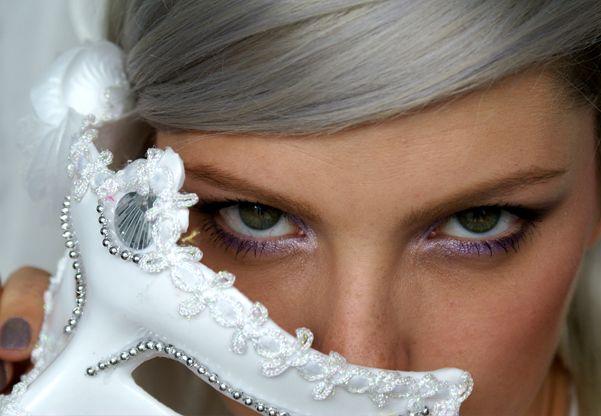 Rychlé Fialové Kouřovky / Quick Puprle Smokey Eyes Makeup Tutorial http://getthelouk.com/?p=3408